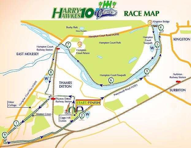 'Harry Hawkes 10' race - Sun 16 July