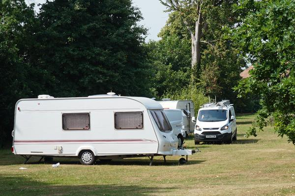 Travellers return to Weston Green