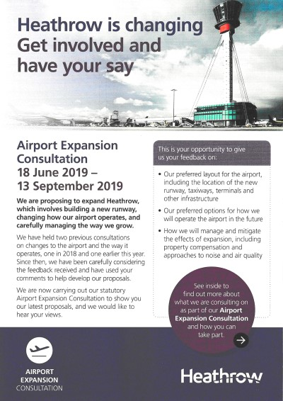 Heathrow Expansion Consultation