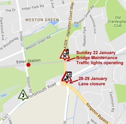 January roadworks