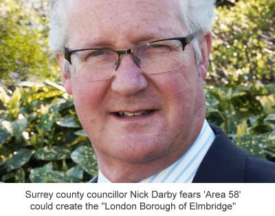 Cllr Nick Darby - on 'Area 58' greenbelt
